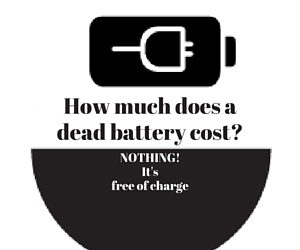 How much does adead battery cost-